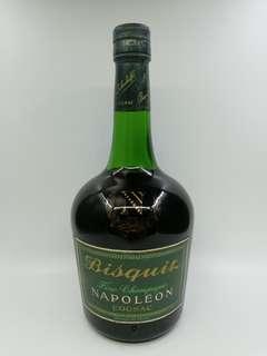 六十年代 Bisquit Napoleon Cognac 百事吉拿破崙干邑 700ml