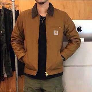 Carhartt 外套 夾克 風衣 大衣 星際效應 教練外套 工裝外套 工作外套 卡其