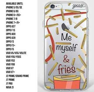Me Myself and Fries Silicon Case