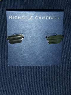 Michelle Campbell 14K Gold Earrings