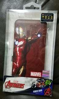 Marvel iron man avengers power bank 充電