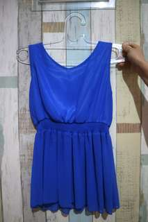Aqua blue top