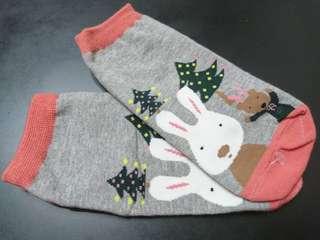 台灣制~可愛兔兔襪子
