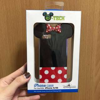 Authentic Disneyland Minnie Mouse iPhone 5s