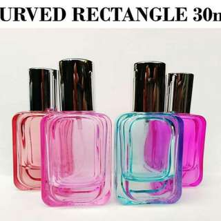 Curved Rectangle 30ml