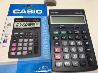 全新 J-120s Casio 計算機