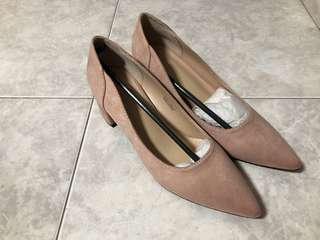 Classic loafers, flat, pink