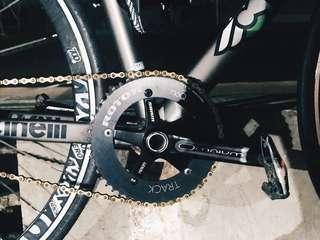 Sram Omnium X Rotor crankset