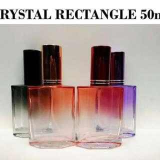 Crystal Rectangle 50ml