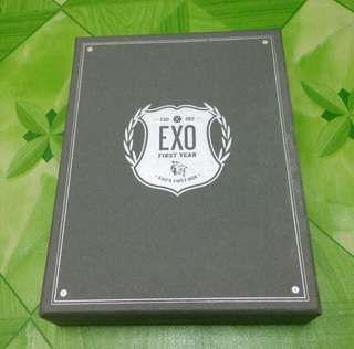 EXO FIRST BOX DVD