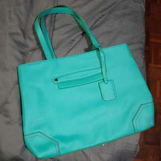Charles & Keith Tote Bag (Mint)