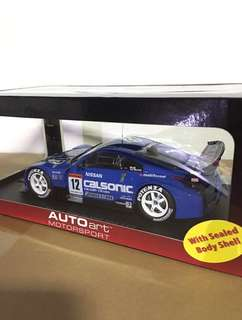 1/18 Nissan JGTC 2004 CALSONIC #12