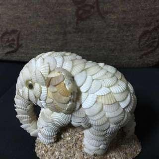 大象貝殼工藝品
