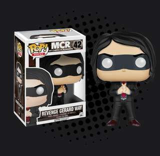 FUNKO POP - MY CHEMICAL ROMANCE - REVENGE GERARD WAY
