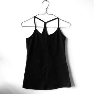 Black Racer Back Tanktop