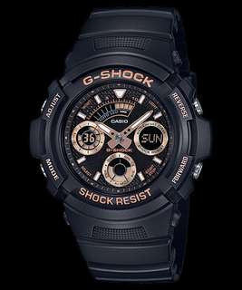 Casio G-Shock Special Color Models AW-591GBX-1A4DR