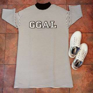 Fashionable Stripes Dress