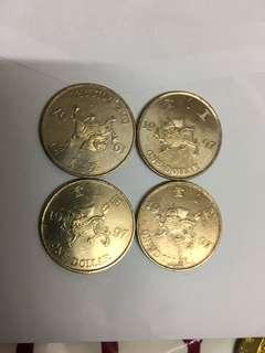 1997年紀念硬幣