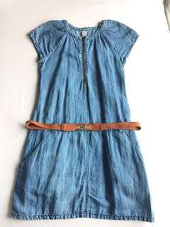 zara jeans dress