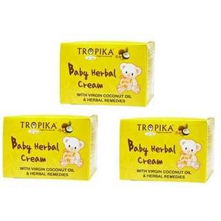 Tropika Baby Herbal Cream 3 pack