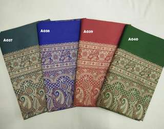 Synthetic Silk Sarees From India