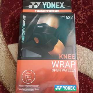 BNIP Yonex Neoprene SRG 622 Knee Support Wrap Open Patella