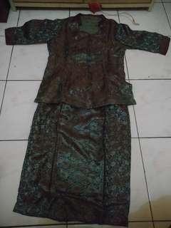 Baju setelan batik 'atasan Dan Rok'