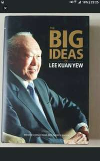 Big ideas of lee kuan yew  Straits times press  Excellent condition  Hardcover  Pick up hougang buangkok mrt