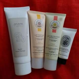 Hand Therapy / Hand Cream / Body Lotion ($35 or above)