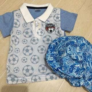 Polo Shirt + Cap