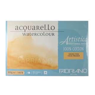 Fabriano Artistico 100% Cotton Watercolour Paper Block