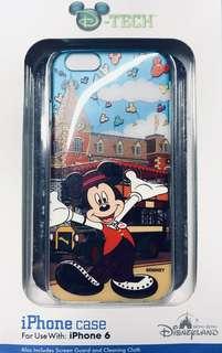⭐️ 香港迪士尼樂園~米奇手機殻 Disneyland iPhone 6 case ~ Mickey Mouse ⭐️