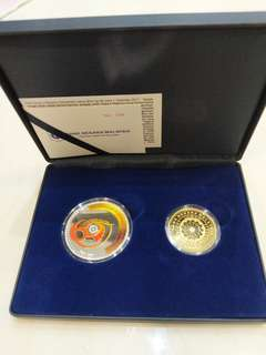 60th Malaysia Commemorative Silver Coin and Nordic Coin Proof Set