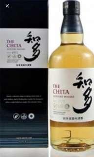 日本三得利知多威士忌700mI連盒