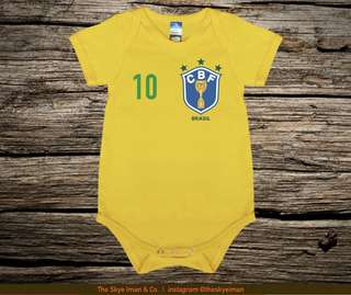 Customised World cup Baby Romper