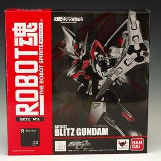 (行版) Robot 魂 Shop R SP Blitz Gundam 閃電高達 (全新未開封品)