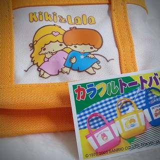 Kiki & Lala 2003年 Sanrio Product 日本空運 日本版 珍藏 手抽袋 雜物袋 (雙星仙子,KiKi&LaLa)(リトルツインスターズ)