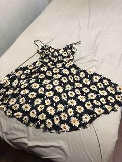 cotton on daisy spaghetti strap sun dress