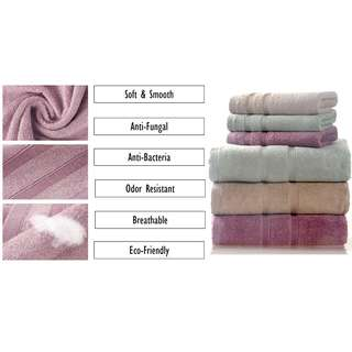 100% Bamboo Fiber Towel (Square Handkerchief, Big Bath Towel)