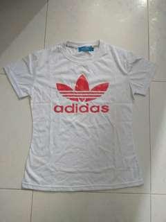 短䄂adidas tee tshirt t-shirt