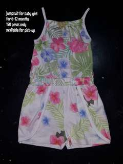 Jumpsuit for your little girl