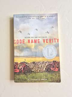 Code Name Verity book