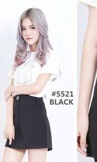 Black ring skirt