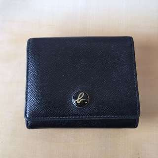 Agnes b Black Small Wallet