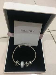 100% Authentic Pandora Bracelet