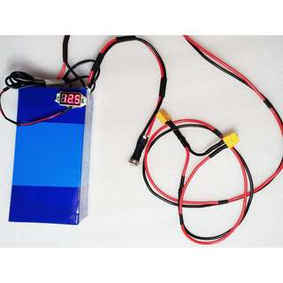 12V 20.8ah booster lithium battery pack for DYU Electric bike ebike, electric scooter escooter….. battery