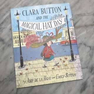 V&A Clara Button and the Magical Hat Day