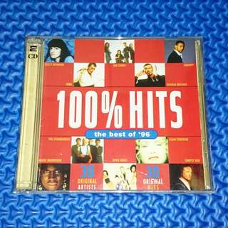 🆒 VA - 100% Hits The Best Of '96 2CD [1996] Audio CD