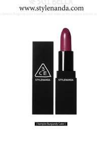 3CE style nanda Matte Lipstick #501
