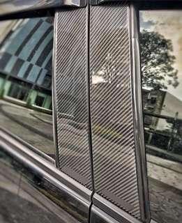 Mazda 3 Carbon Fiber Windows Trim
